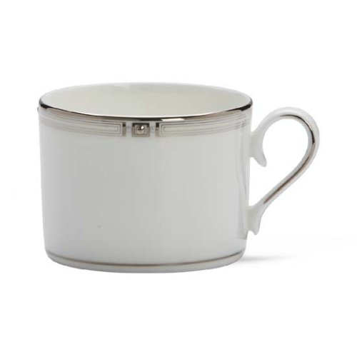Lenox Westerly Platinum Bone China Cup (Teacup Platinum China)