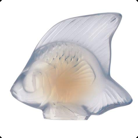 Crystal Fish Lalique - Lalique Crystal Fish Opalescent 30013 Lalique-30013