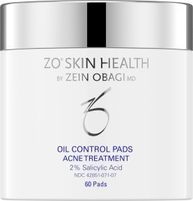 ZO Skin Health Oil Control Pads Acne Treatment, 2% Salicylic Acid- 60 pads formerly called ZO MEDICAL - Oil Control Treatment