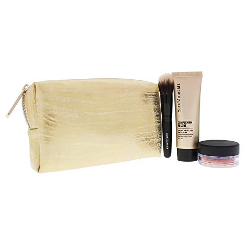 bareMinerals Take Me With You Set for Women, 09 Chestnut, 4 Count