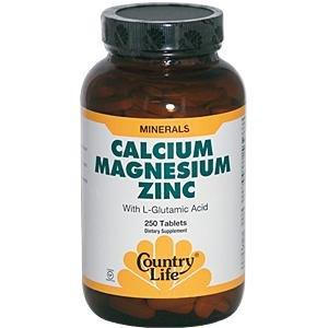 Country Life Cal-mag-zinc, 250-comte