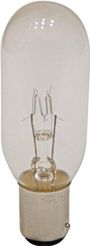 Eiko 790 - CAX-130 - Ophthalmic Lamp - T8 - 50 Watt Light Bulbs - 130 Volts - BA15d Base - 2875K - CAX/130V/50W ANSI (130v Bulb Eiko Incandescent Light)