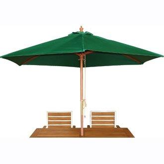 Für Garten, Terrasse, Rund, Grün, 3 M, Umlenkrolle Sonnenschirm Schirm  Regenschirm