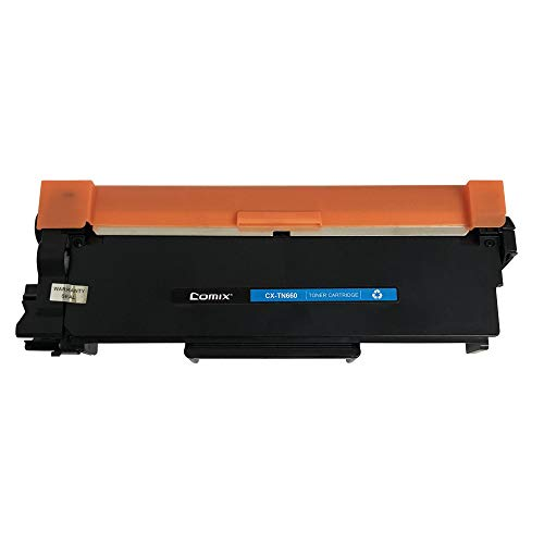 Comix Compatible Toner Cartridges Replacement for Brother TN660 TN-630 High Yield, Compatible with Brother HL-2340DW HL-2380DW HL-2300D DCP-L2540DW DCP-L2520DW MFC-L2700DW by Comix