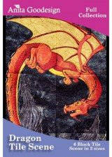 Anita Goodesign Dragon Tile Scene (133AGHD)