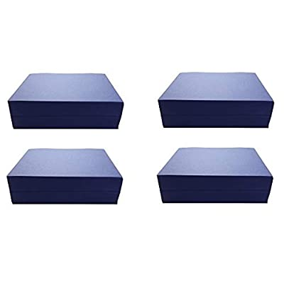 Childcraft Construction Paper, 9 x 12 Inches, Blue, 500 Sheets - 1465881 (Pack of 4)