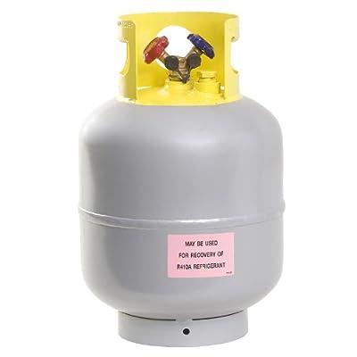 Flame King YSNR501 50 Pound Refrigerant Recovery Cylinder Tank: Automotive