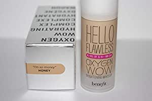 "Benefit Cosmetics - Hello Flawless Oxygen WOW Foundation in shade""I am so money Honey"""
