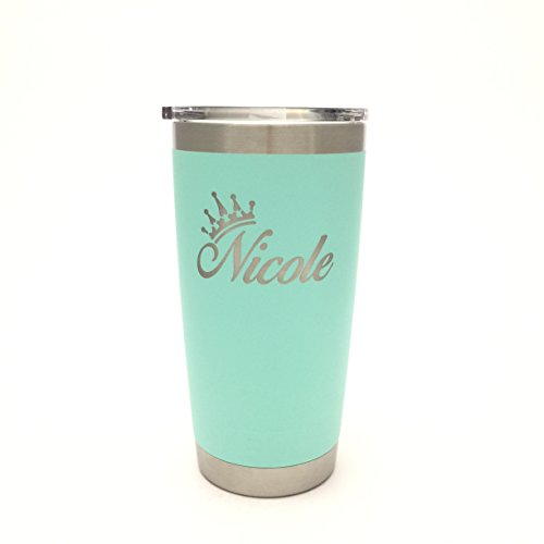 Rambler Engraved Princess Stainless Drinkware product image