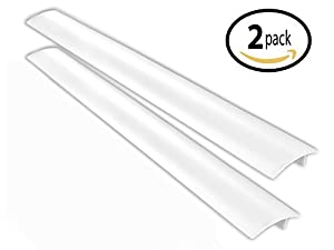 Primode Silicone Stove Kitchen Counter Gap Cover - (2 Pack) - Seals Gap Between Cabinets, Desks & Large Appliances to Prevent Mess (High Quality, Heat-Resistant, Convenient, & Easy to Clean)