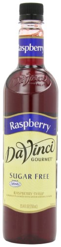 DaVinci Gourmet Sugar Free Syrup Raspberry 25.4 Oz. (Pack of 3) Zero Calorie Sweetener Syrup for Espresso Drinks, Tea, and Other Beverages, Suited for Home, Café, Restaurant, Coffee (Gourmet Raspberry)