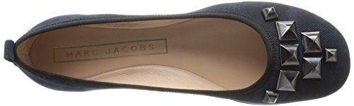 Marc Jacobs Womens Cleo Studded Ballerina Ballet Flat Navy Multi pwGe8OQ