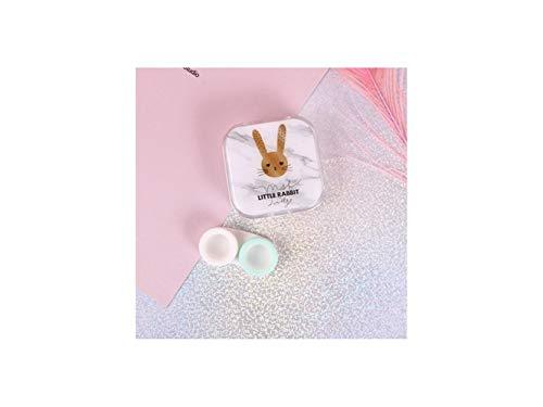 Étui Le De Pour White À White Boîte Hnbgy Récipient Lunettes couleur Modèle Mignon Mini Difficile Animé Voyage Extérieur Dessin blanc xqXBwOA