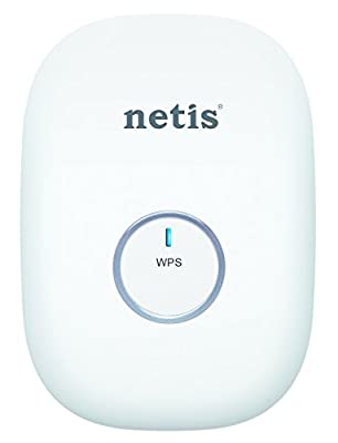 Netis E1+ 300Mbps Wireless N Range Extender, Travel Router, Wi-Fi Repeater