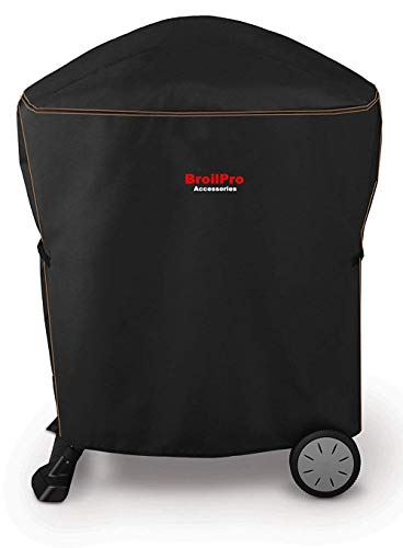 BroilPro Deluxe Grill Cover fit Weber Q 1000/2000 Grill(size as 7113#) ()