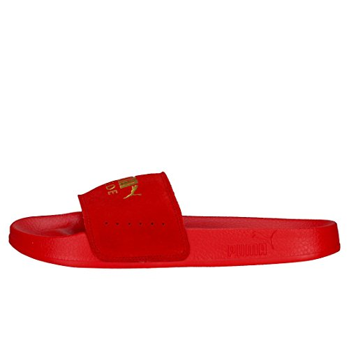 red Leadcat 05 Rojo Puma Piscina puma Zapatos Y De Unisex Gold Suede Playa Adulto vxTwqRCd