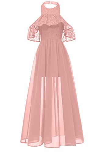MILANO BRIDE Women's Formal Prom Party Dress Halter Homecoming Casual Dresses for Junior