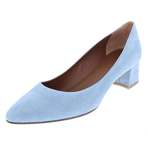 Aquatalia by Marvin K. Womens Pheobe Suede Pointed Toe, Chambray, Size 6.0 Aquatalia By Marvin K Pumps