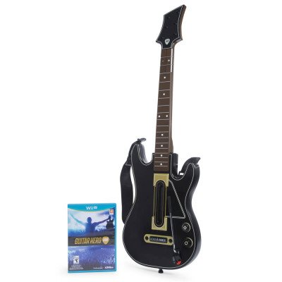 HOT SELLER Guitar Hero Live Game & Guitar Controller (Wii)