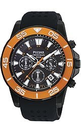 Seiko Men's PT3147 Pulsar Chronograph Watch
