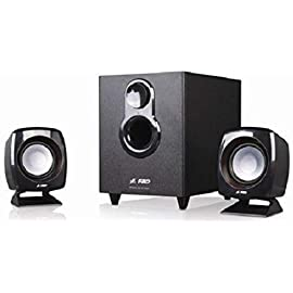 F D F 203G 2.1 Channel Multimedia Speakers System  Black  Multimedia Speaker Systems