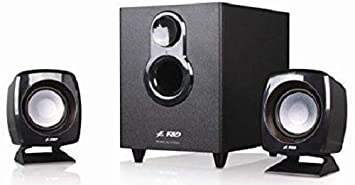 FD F-203G 2.1 Channel Multimedia Speakers System (Black)