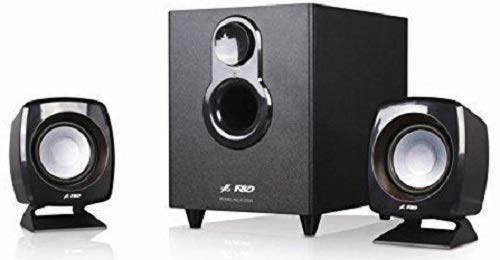 F&D F-203G 2.1 Channel Multimedia Speakers System (Black) at Rs.999