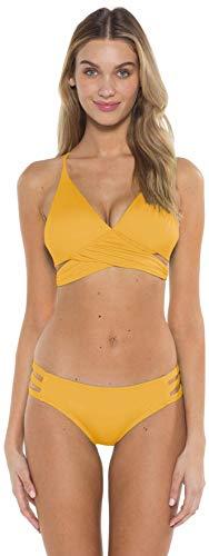 Mossimo Bikini Swimsuit - Mossimo Shay Bralette Bikini Top Womens Sz S Yellow