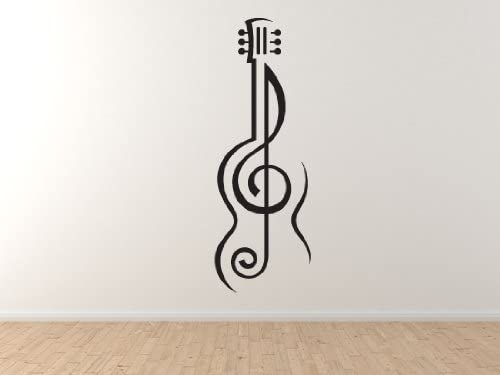 Blue Eighth Note Music Symbol Word Art Wall Decal Wallmonkeys Com