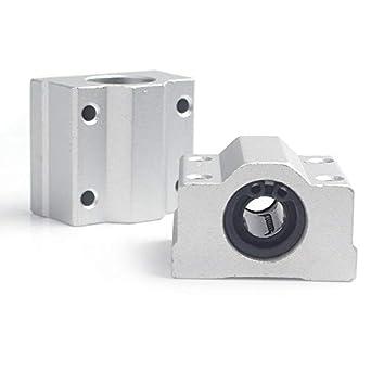 INVENTO SC12UU - Rodamientos de bloque de aluminio para impresora ...