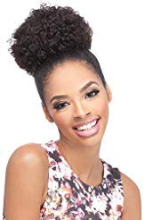 Drawstring Synthetic (Outre Synthetic Drawstring Ponytail Timeless Afro Small (1B))