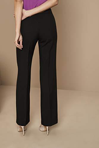 Simon Femme Noir Évasée Jersey Coupe Pantalon g0qPwg