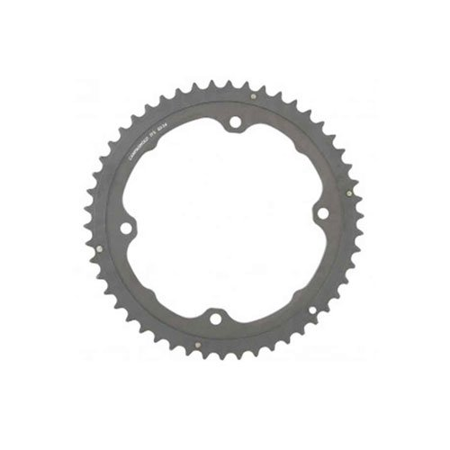 Image of Campagnolo, H11, Chainring, Teeth: 52, Speed: 11, BCD: 145, Bolts: 4, Outer, Aluminum, Grey, FC-H11052