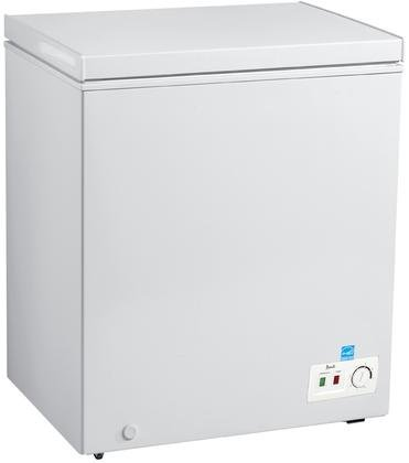 Avanti CF50B0W Freezer with 5.0 cu. ft. Capacity, White Door, Manual Defrost, Energy Star Certified in White Review