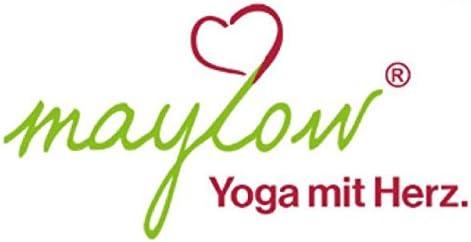 Cojín de Meditación Bolster Shiva Maylow Yoga mit Herz