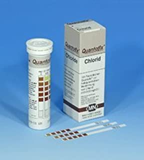 SEOH Indicator to Detect Chloride Quantofix 100 Analytical Strips