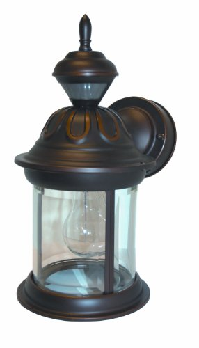 Cheap Heath/Zenith SL-4168-AZ-A 150-Degree Motion-Activated Bridgeport Style Decorative Lantern, Antique Bronze