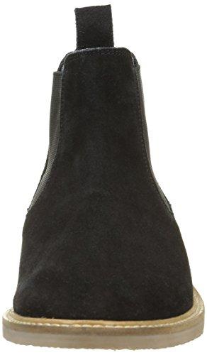 Kickers Tyga, Zapatillas de Estar por Casa para Mujer, Azul negro