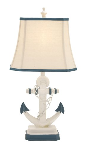 Deco 79 97315 Metal Table Lamp, 28