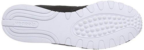 Femme Mehrfarbig blanc De Nylon Chaussures Classic Reebok Slim Noir noir Course Mesh wgP0wqx8