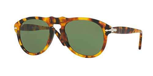 Persol PO0649 Sunglasses-10524E Madreterra (Green - Sunglasses Persol 649