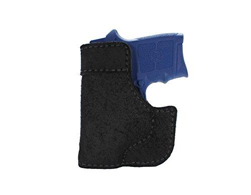 Magnum Grain 100 (Daltech Force PP4 Small Gun Pocket Holster - Concealed Carry CCW Leather Pocket Gun Holster (Black))