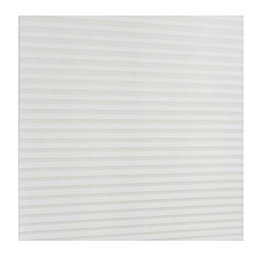 GEZICHTA Pleated Blind – Non Woven Fabric Balcony Shades Self Adhesive, Curtains Office/Kitchen/Door/Window (90150,White)