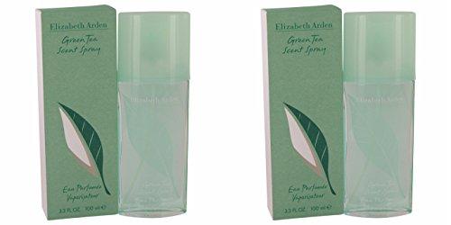 Price comparison product image Elizábéth Ardén Gréen Teá Perfúme For Women 3.4 oz Eau Parfumee Scent Spray (2 Pack) + a FREE Wings Cologne 3.4 oz Shower Gel