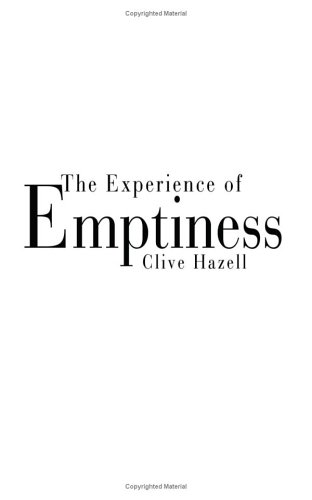 The Experience of Emptiness