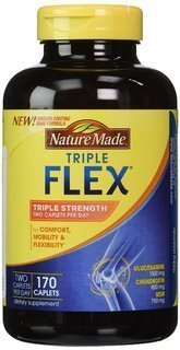 Nature Made TripleFlex Triple Strength,Family Pack of 340 Caplets