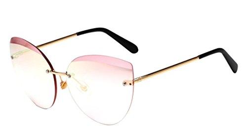 Polaroid Cat Eye anti sol sol HD Gafas Tide Gafas de Eyewear Fashion Women de Color2 JYR ultravioleta Efp6qUOnx