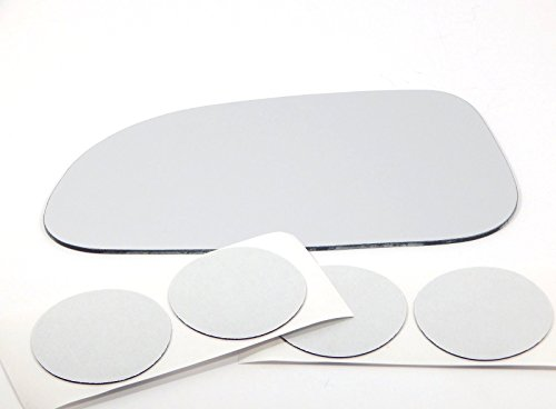 VAM Fits 04-08 Forenza 05-08 Reno Left Driver Replacement Mirror Glass Lens w/o Backing Plate Non Heated