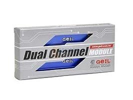 GEIL 512MB (2 x 256MB) 184-Pin DDR SDRAM DDR 400 (PC 3200) Dual Channel Kit System Memory