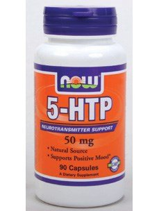 Now Foods 5-HTP 50 mg - 90 Caps 12 Pack by NOW